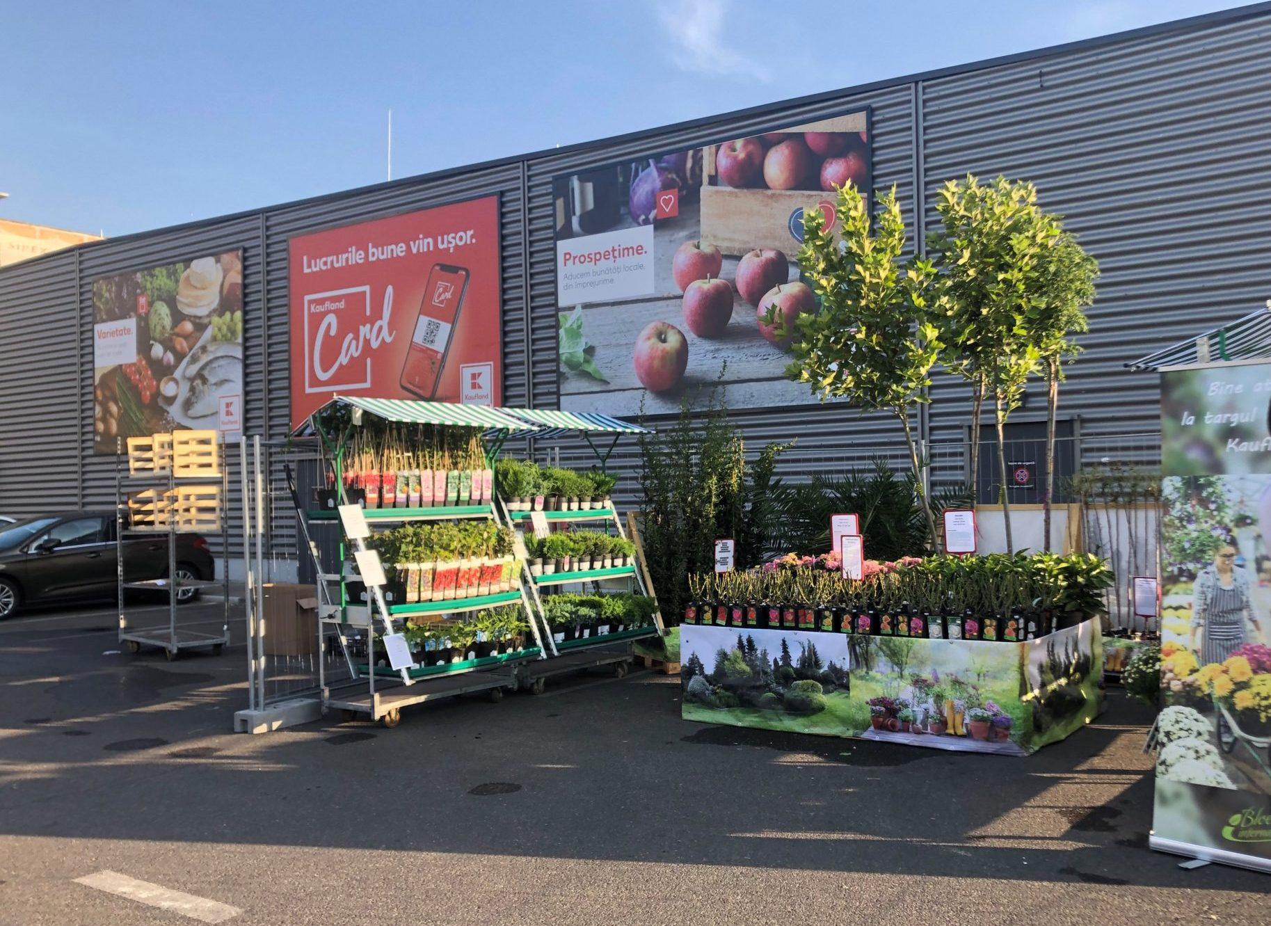 Kaufland găzduiește primul târg de plante de sezon