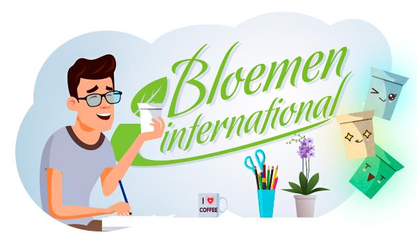 International Bloemen vă prezintă noul designer vestimentar din lumea plantelor